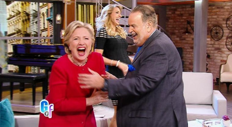 hillary laughing gyf