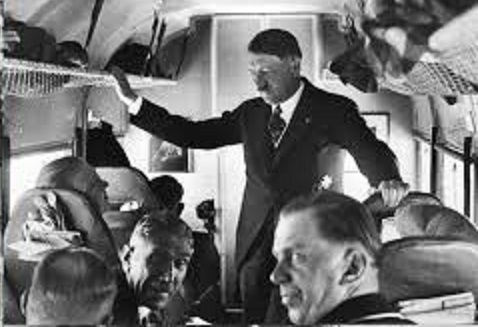 hitler on his way to St Louis