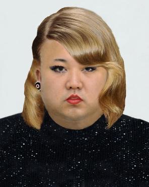 Kj-un in a dress