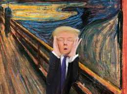 trump the scream
