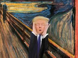 trump the scream