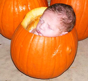 newborne-pumpkin