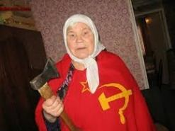 old russian woman