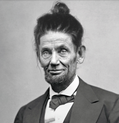 abraham-lincoln-man-bun-hairstyle-funny