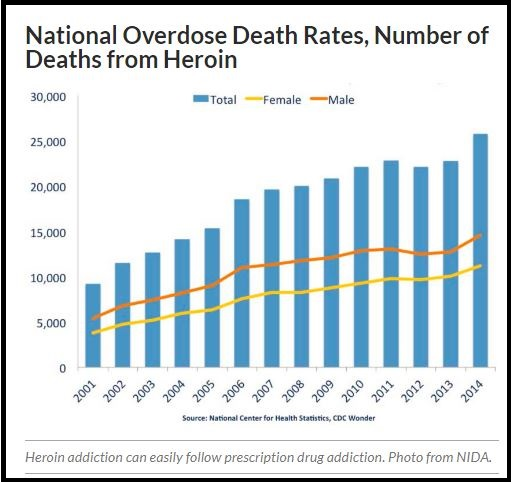 heroin overdose rates