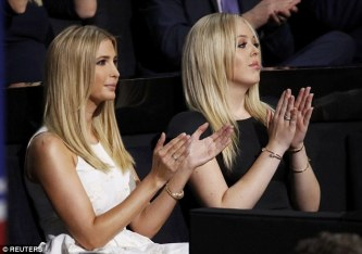 ivanka and tiffany
