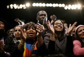 blacks clapping