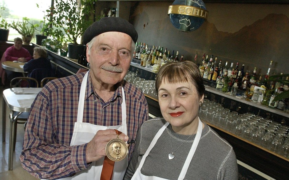 Branko and Patricia Radicevic - Three Brothers Restaurant, 1 of 2