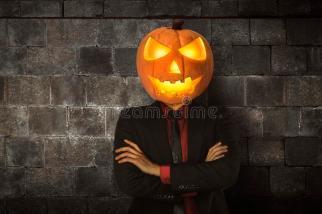 young-halloween-man-wearing-suit-pumpkin-head-party-97997707