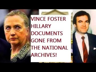 vince foster docs missing