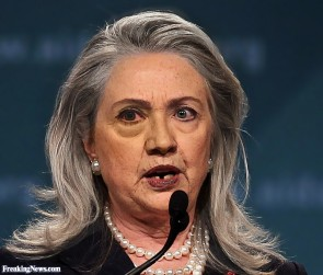 hillary missing teeth