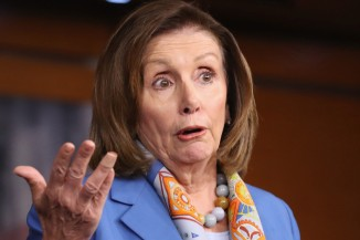pelosi-weird-looking